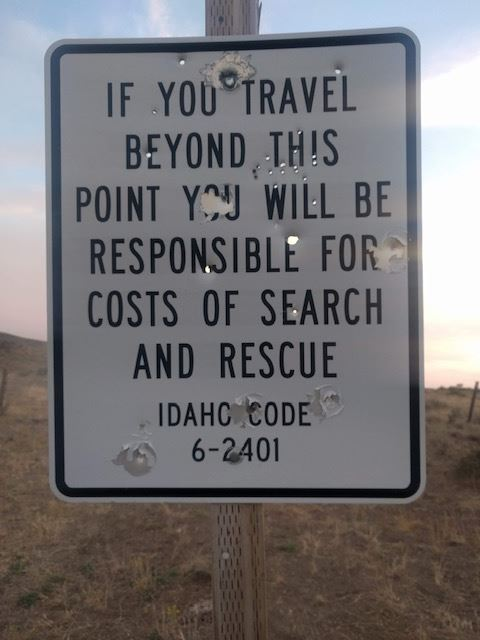 Idaho Sign