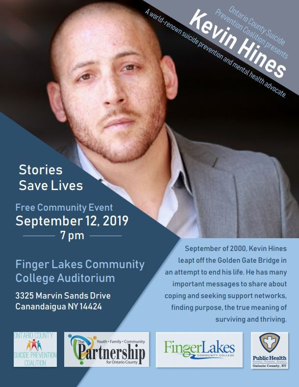 2019 Kevin Hines Community Flyer