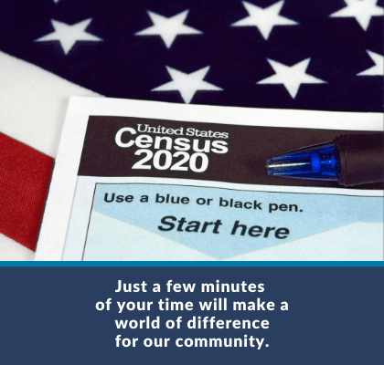 Just a Few Minutes of Your Time - Census