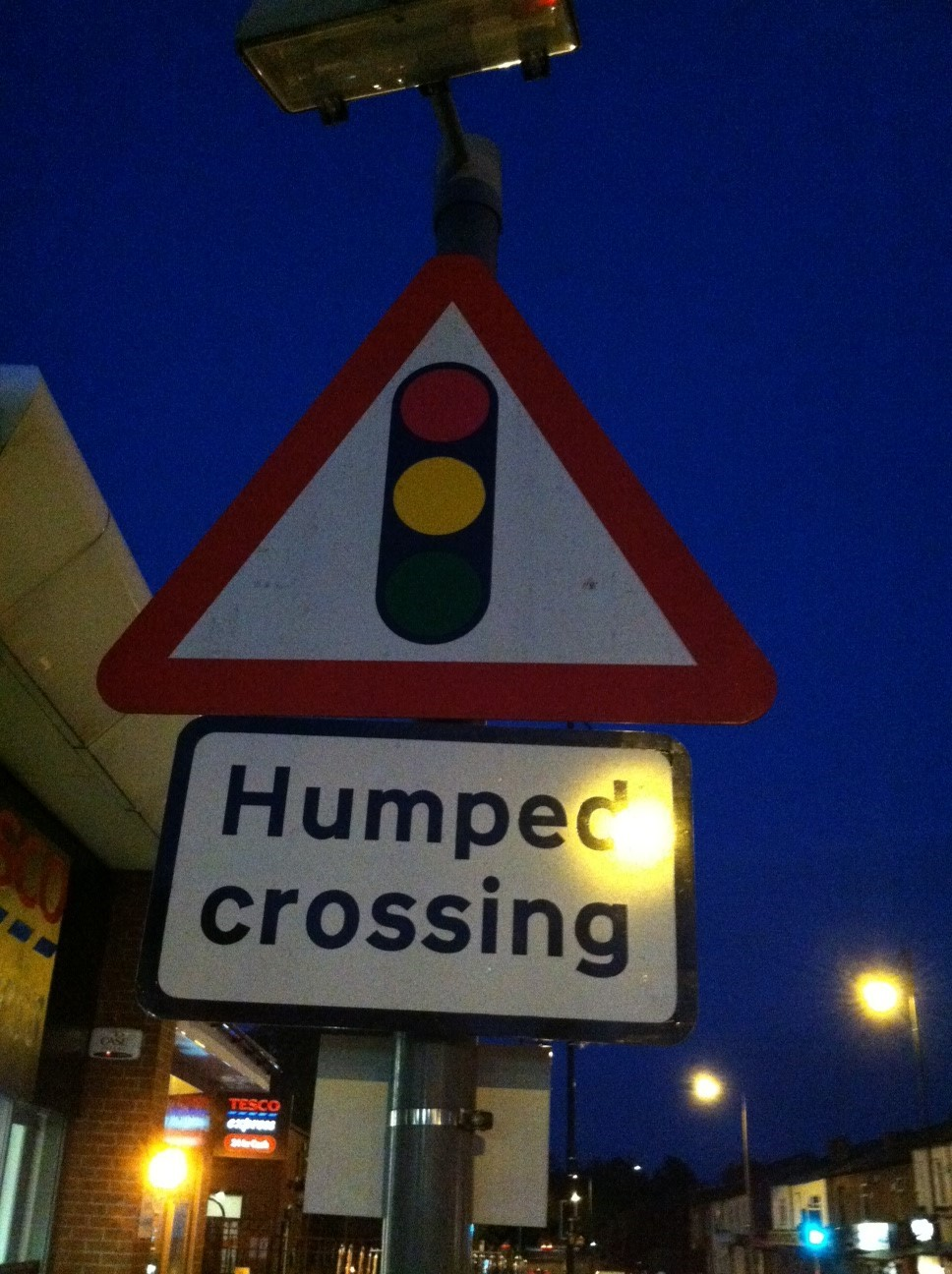 Humped Crossing