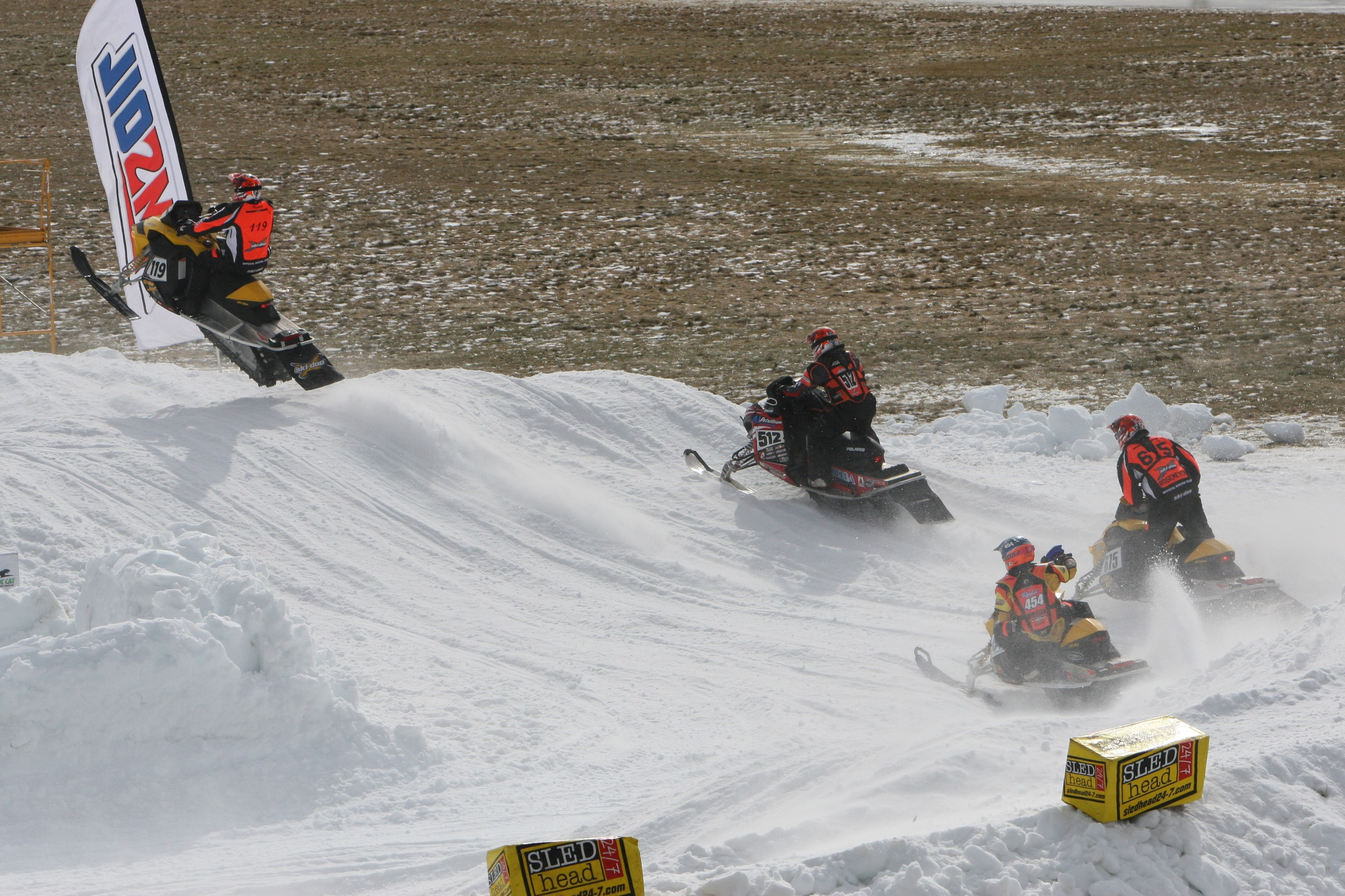 ISOC Snocross @ Finger Lakes Race Track