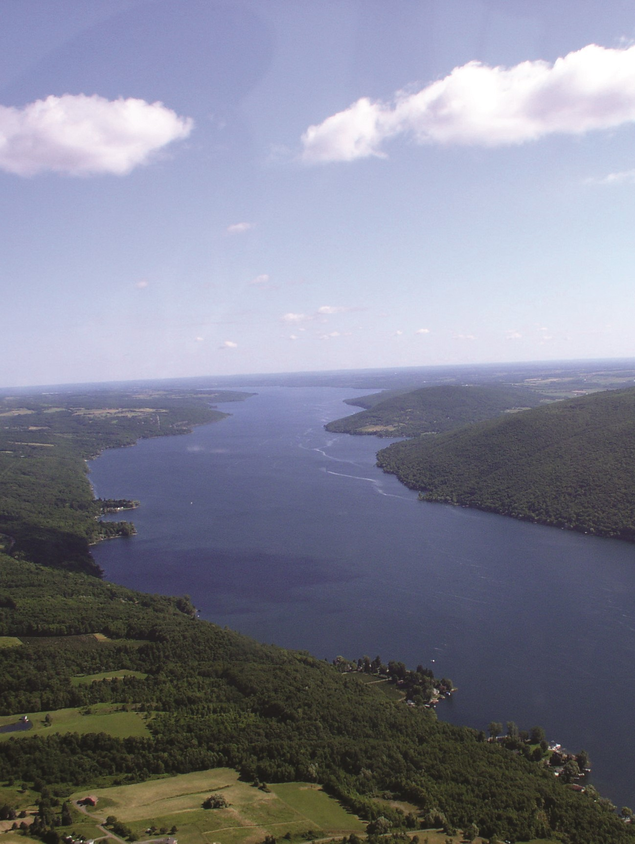 Canandaigua Lake - looking North