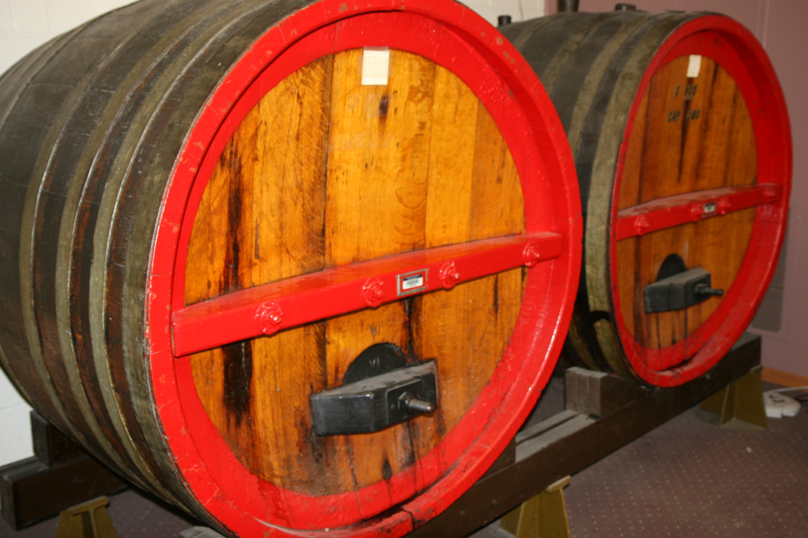Wine Barrels - Widmers - Naples, NY